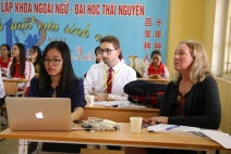 SCHOOL OF FOREIGN LANGUAGES - THAI NGUYEN UNIVERSITY: New heights for international integration